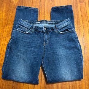 Old Navy distressed boyfriend straight jeans